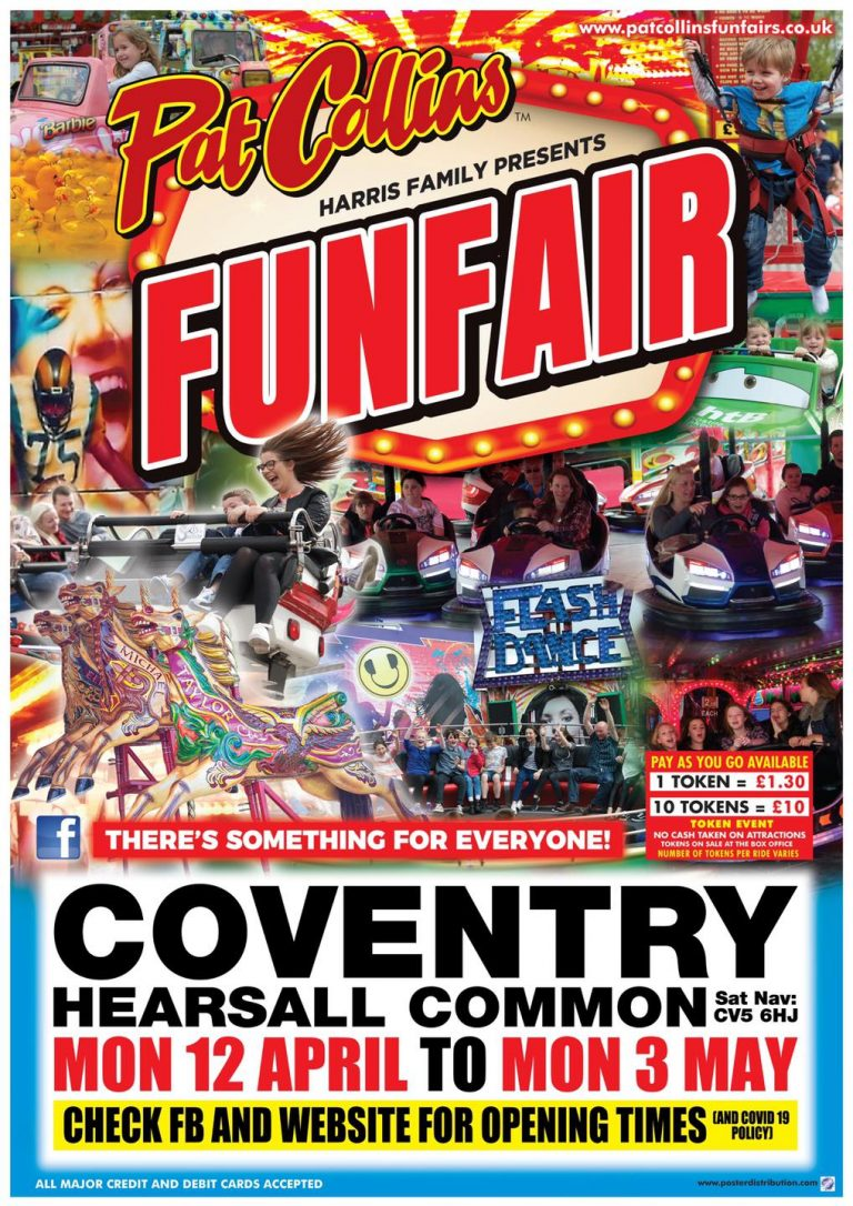 Hearsall Common Funfair Poster